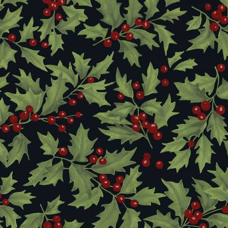 Let Nature Sing Holly-Black