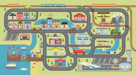 Pastel Road Map