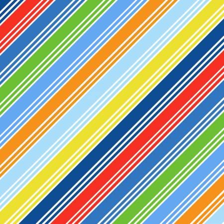 Clothworks Things That Go Multi Stripes Y3035-55