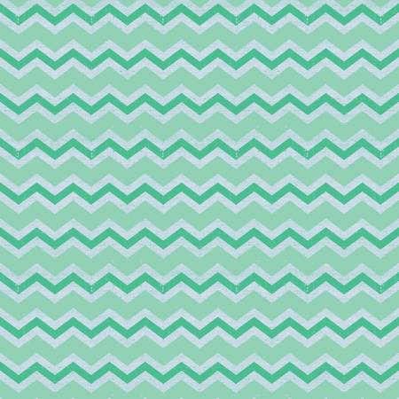 Clothworks Snarky Cats Turquoise Chevron