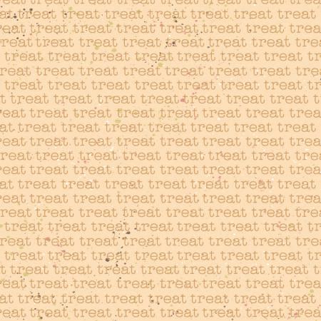 Clothworks Snarky Cats Rust Treat Words