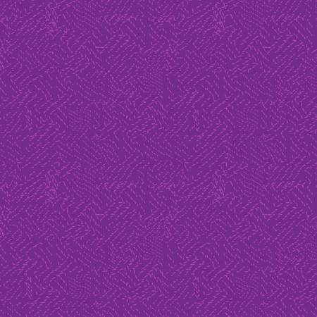 Y3070 45 Eggplant Tonal Thistle Patch for Clothworks Fabrics. 100% cotton 43 wide