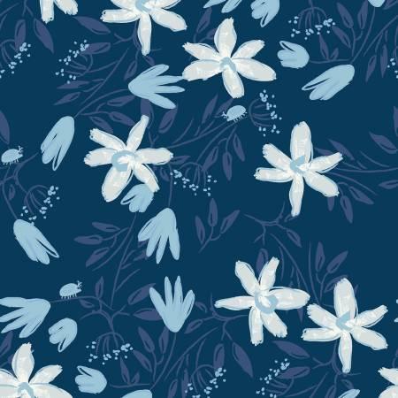Blue Goose - Navy Floral
