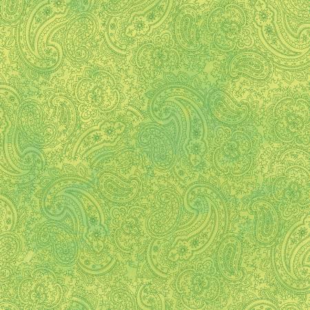 Good Vibes -  Lime Paisley
