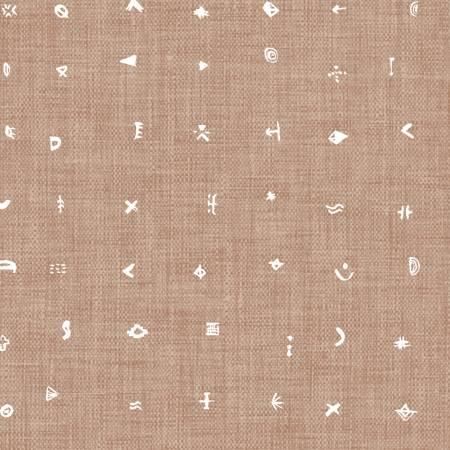 Forest Glade Brown Symbols
