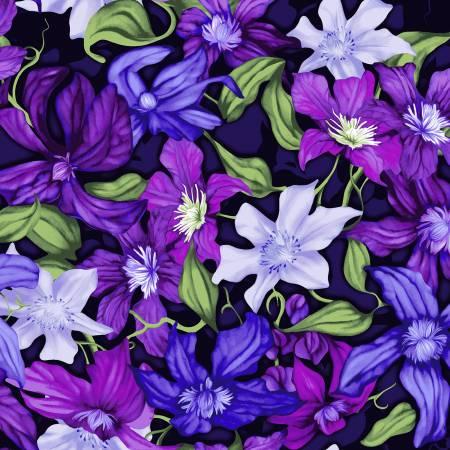 Trellis - Purple Packed Clematis
