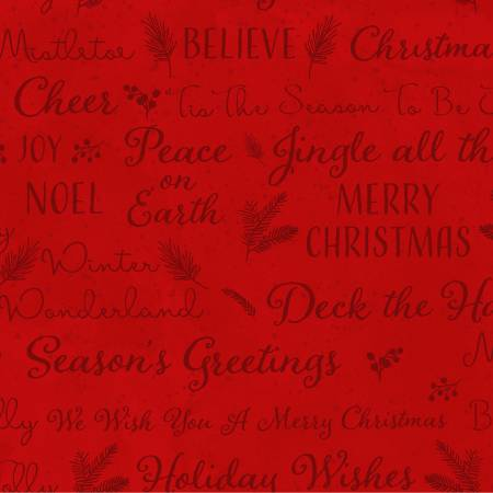 O Christmas Tree Light Red Christmas Holiday Wishes  Y3237-4