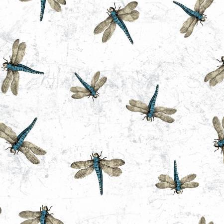 Botanical Journal Dragonflies White