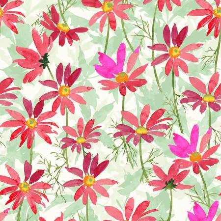 Flower Shop Raspberry Daisies