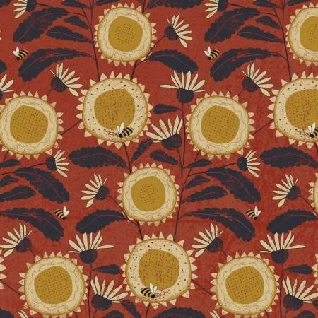 Sunny Days - Sunflowers - Brick