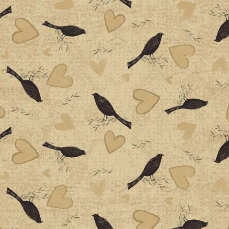 Sunny Days - Blackbirds - Caramel