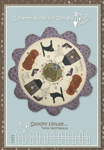 Spooky House Table Centeriece