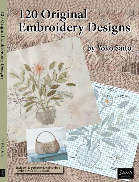 120 Original Embroidery Designs - Softcover