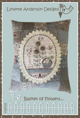 Basket of Flowers Pillow Kit