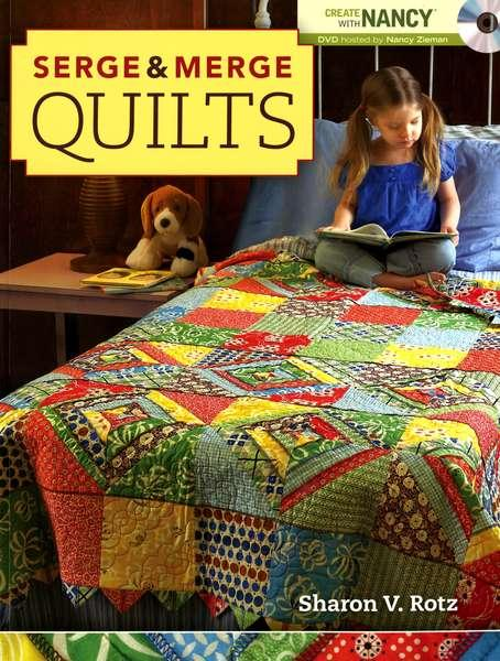 Serge & Merge Quilts Softcover Book - Z2917
