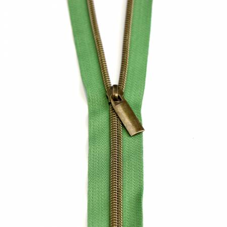 Zippers by the Yard Magnolia Antique