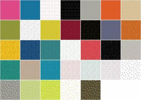 5in Squares Zentastic 42pcs/bundle