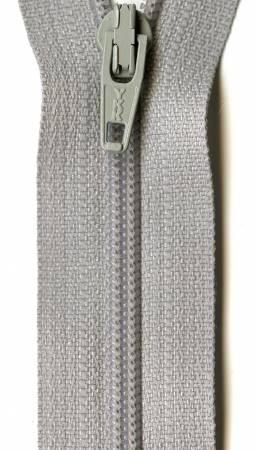 Ziplon Coil Zipper - 7in -  Smoke Grey