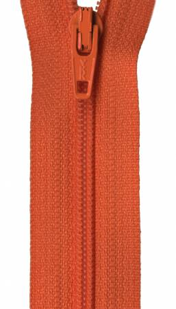 Ziplon Coil Zipper 9 - Burnt Orange