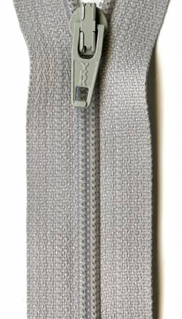 Ziplon Coil Zipper 9in Smoke Grey