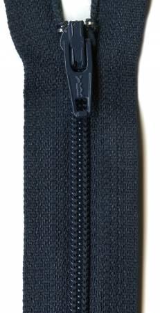 Ziplon Coil Zipper 16in Navy