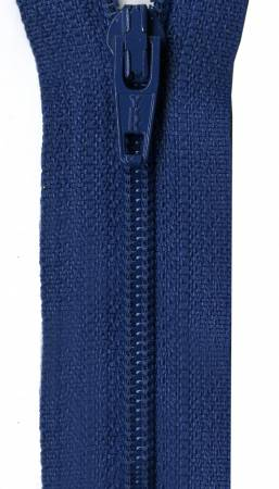 Ziplon Coil Zipper 18in Royal