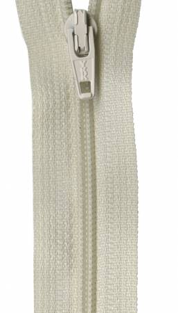 Ziplon Coil Zipper 18in Natural