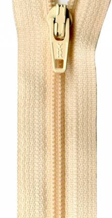 Ziplon Coil Zipper 18in Soft Apricot