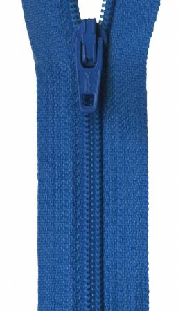 Ziplon Coil Zipper 22in - Rocket Blue