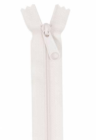 Handbag Zipper 24in Ivory