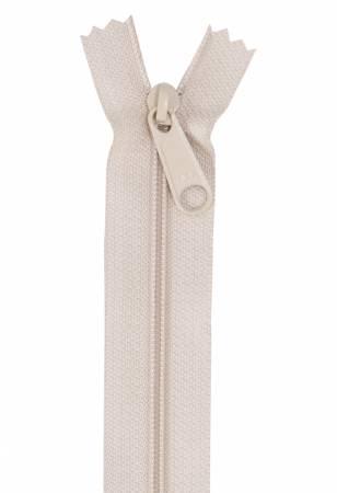 Handbag Single Slide Zipper 24 Natural