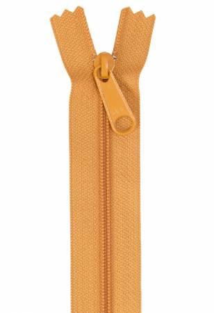 Handbag Single Slide Zipper 24 Gold