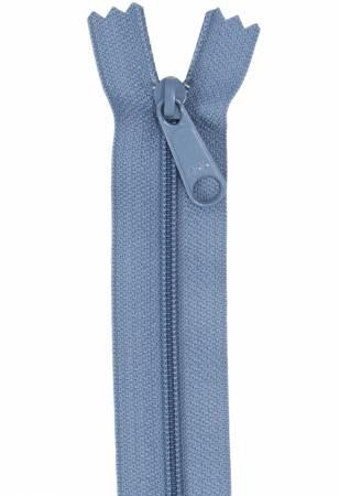 Handbag Zipper 24in Country Blue
