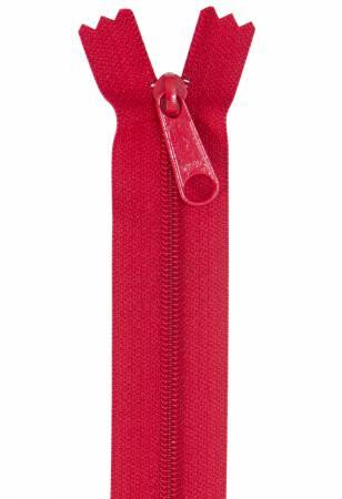 Handbag Single Slide Zipper 24 Hot Red