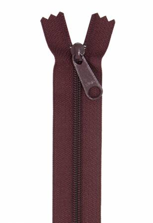 Handbag Single Slide Zipper 24 Cranberry