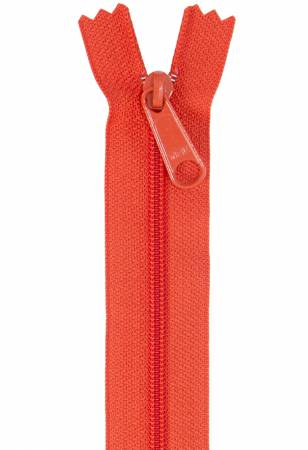 Handbag Zipper 24in Tangerine