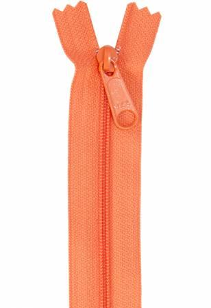 Handbag Zipper 24in Pumpkin