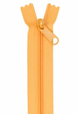 Handbag Single Slide Zipper 24 Papaya