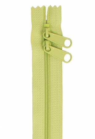 Handbag Zipper 30in Chartreuse