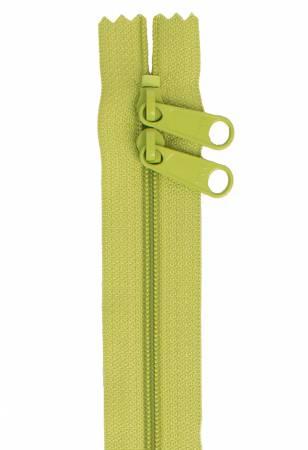 Handbag Zipper 30in Green Apple ZIP30-200