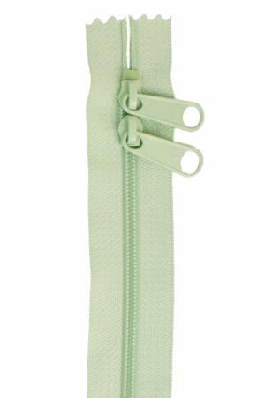 Handbag Zipper 30in Light Mint