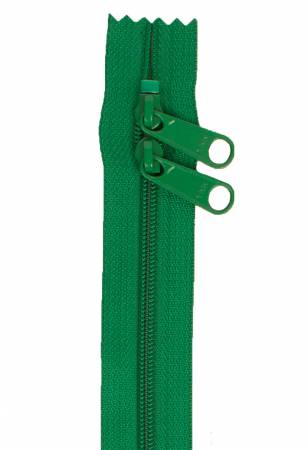 Handbag Zipper 30in Double Slide Jewel Green
