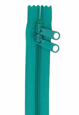 Handbag Zipper 30in Emerald Green