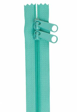 Annie Handbag Zipper 30in Double-Slide - Turquoise
