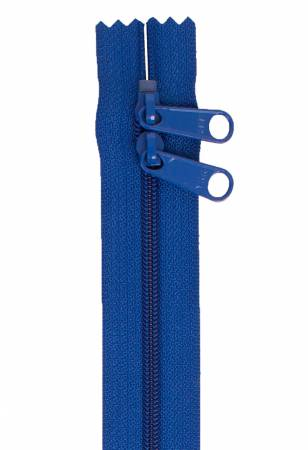 Handbag Zipper 30in Double-Slide - Blastoff Blue