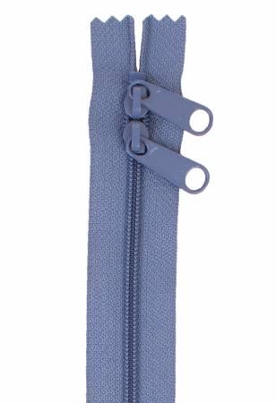 Handbag Zipper 30in Country Blue