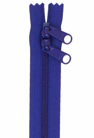 Handbag Zipper 30in Cobalt