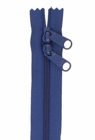 Handbag Zipper 30in Union Blue