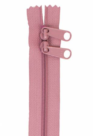 Handbag Zipper 30in Dusty Rose