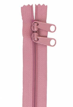Handbag Zipper 30in Double Slide Dusty Rose